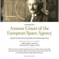 Einstein ESA Invite