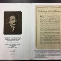 Einstein - Hebrew University Mission Statement