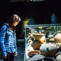 Tori Levy at Masada Museum