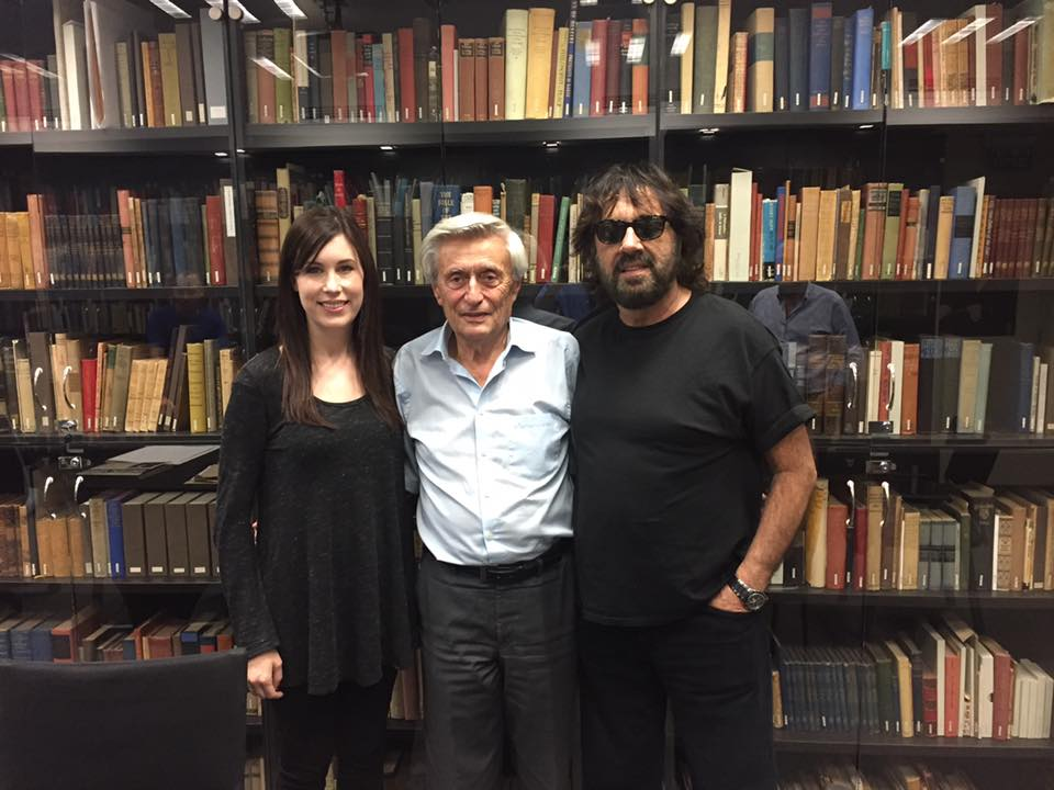 Tori and Shuki Levy visit the Albert Einstein Archives at Hebrew University in Jerusalem, Israel.