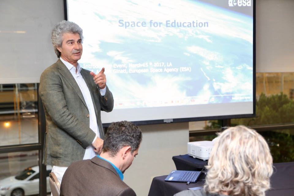 Einstein Legacy Project European Space Agency Event Los Angeles